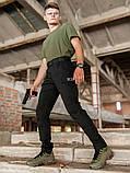 Мужские карго брюки beZet Aviator black'20, мужские осенние карго штаны, черные карго штаны, фото 3