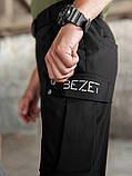 Мужские карго брюки beZet Aviator black'20, мужские осенние карго штаны, черные карго штаны, фото 7