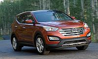 Штатные противотуманные фары (ПТФ) для Hyundai Santa Fe DM 2013+