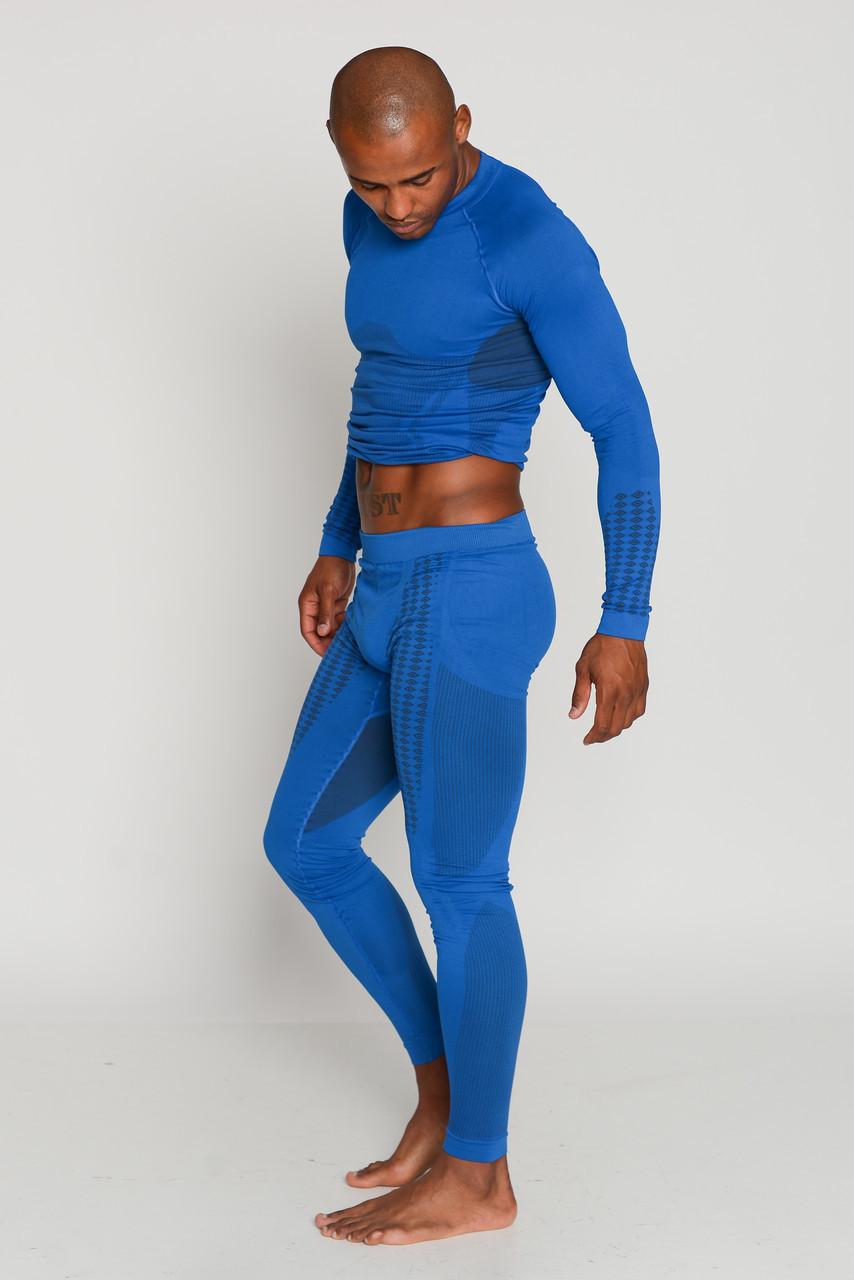 Мужские термоштаны спортивные HASTER UltraClima зональное бесшовное термобелье