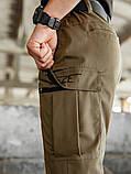 Мужские карго брюки beZet Aviator koyot'20, мужские осенние карго штаны, коричневые карго штаны, фото 5