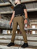 Мужские карго брюки beZet Aviator koyot'20, мужские осенние карго штаны, коричневые карго штаны, фото 4