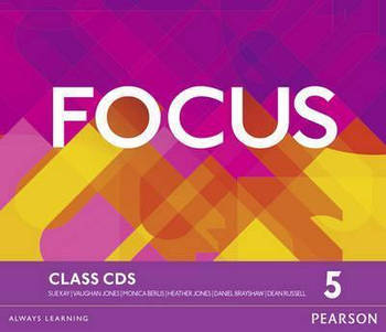Focus 5 Second Edition Class CDs