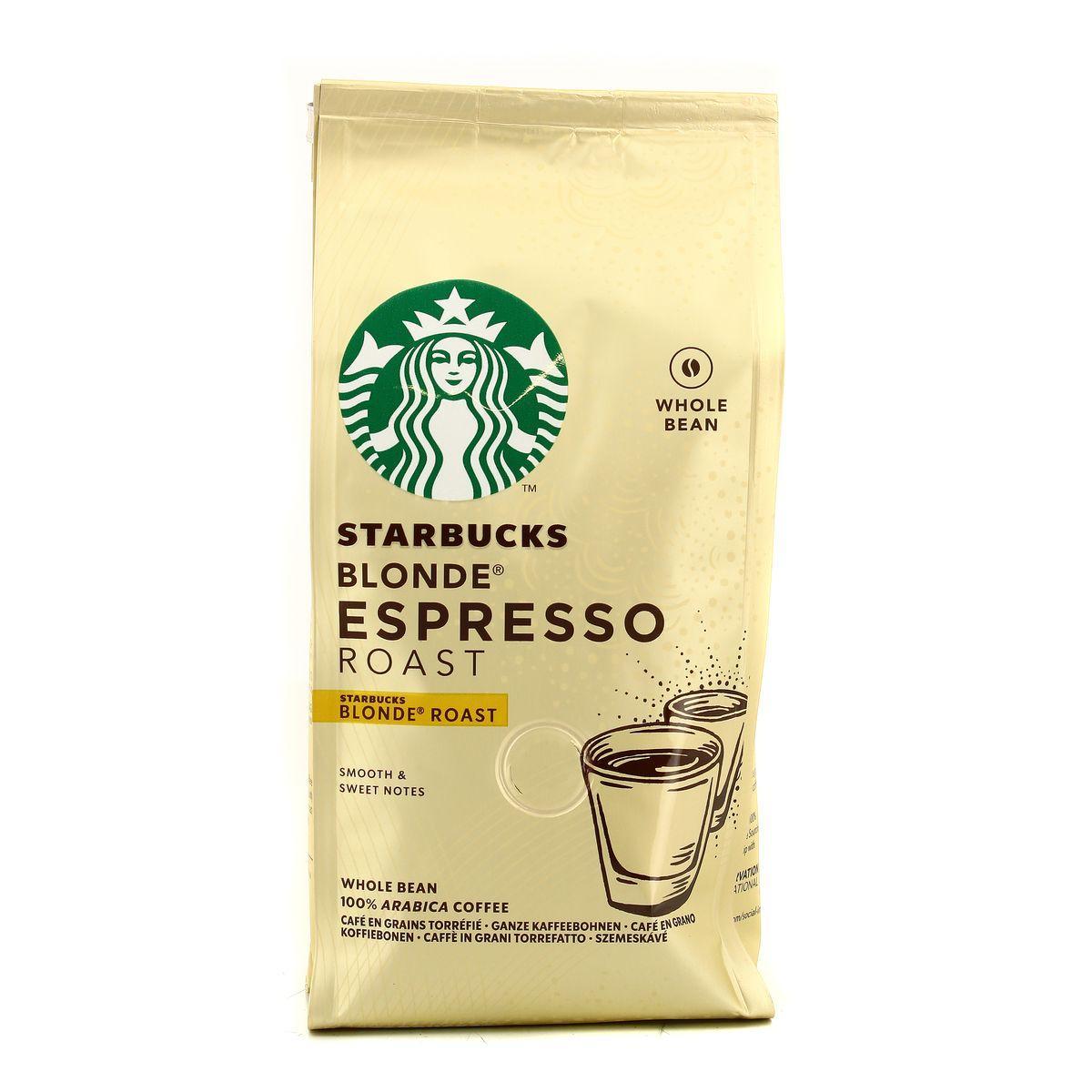 Кофе в зернах Starbucks Blonde Espresso 200 g