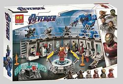Конструктор Супергерои Марвел Super Heroes Marvel Comics Лаборатория Железного Человека, 560 деталей (11260)