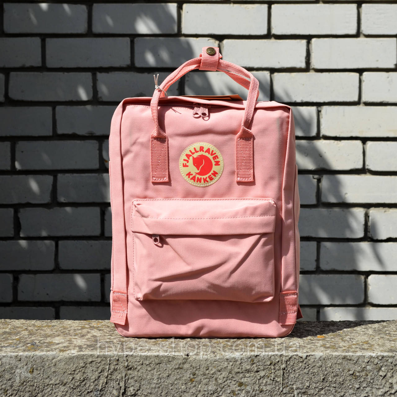 Розовый Рюкзак Kanken Classic реплика