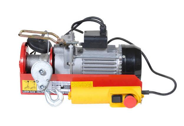 Тельфер ULTRA электр 880Вт 200-400кг 6/12м 220В , фото 2