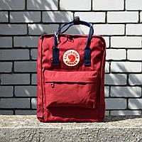 Бордовый Рюкзак Kanken Classic реплика, фото 1