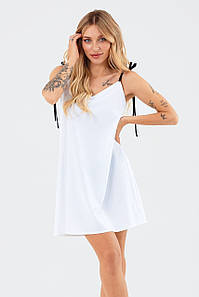 Молодіжне літнє прогулочне плаття Lillian, біле