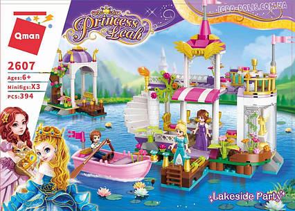"""Конструктор Qman Princess Leah 2607 """"Причал принцессы"""" 358 дет"""