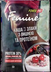 Каша 3 злака Power Pro Femine с Вишней и Протеином  (50 грамм)