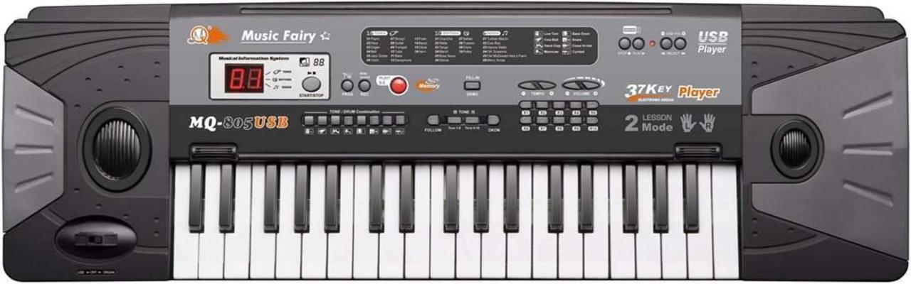 Детский синтезатор MQ-805USB с микрофоном, 37 клавиш