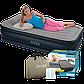 Надувная кровать Intex Dura-Beam Standart 64132 со встроенным электронасосом (191х99х42 см), фото 5