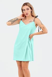 Молодіжне літнє прогулочне плаття Lillian, ментолове