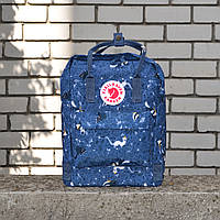 Синій Рюкзак Kanken Classic репліка, фото 1