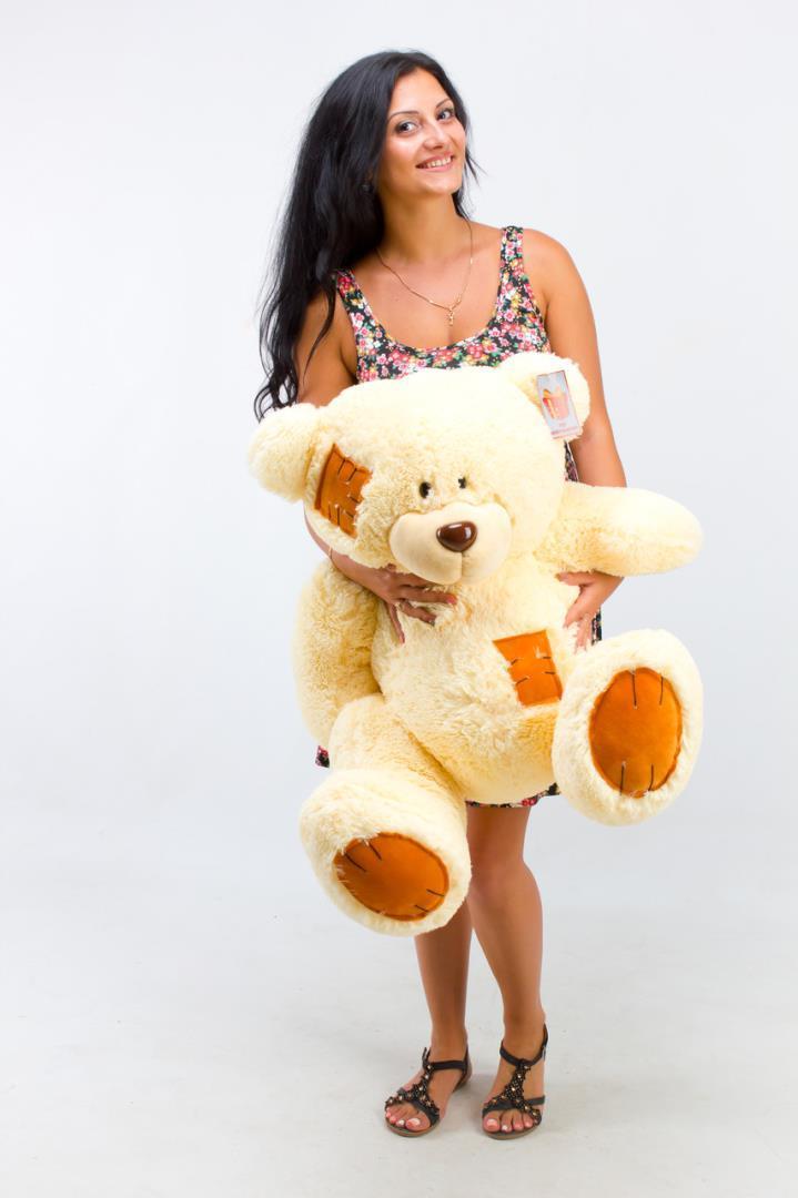 Плюшевый мишка Тедди 100см Кремовый