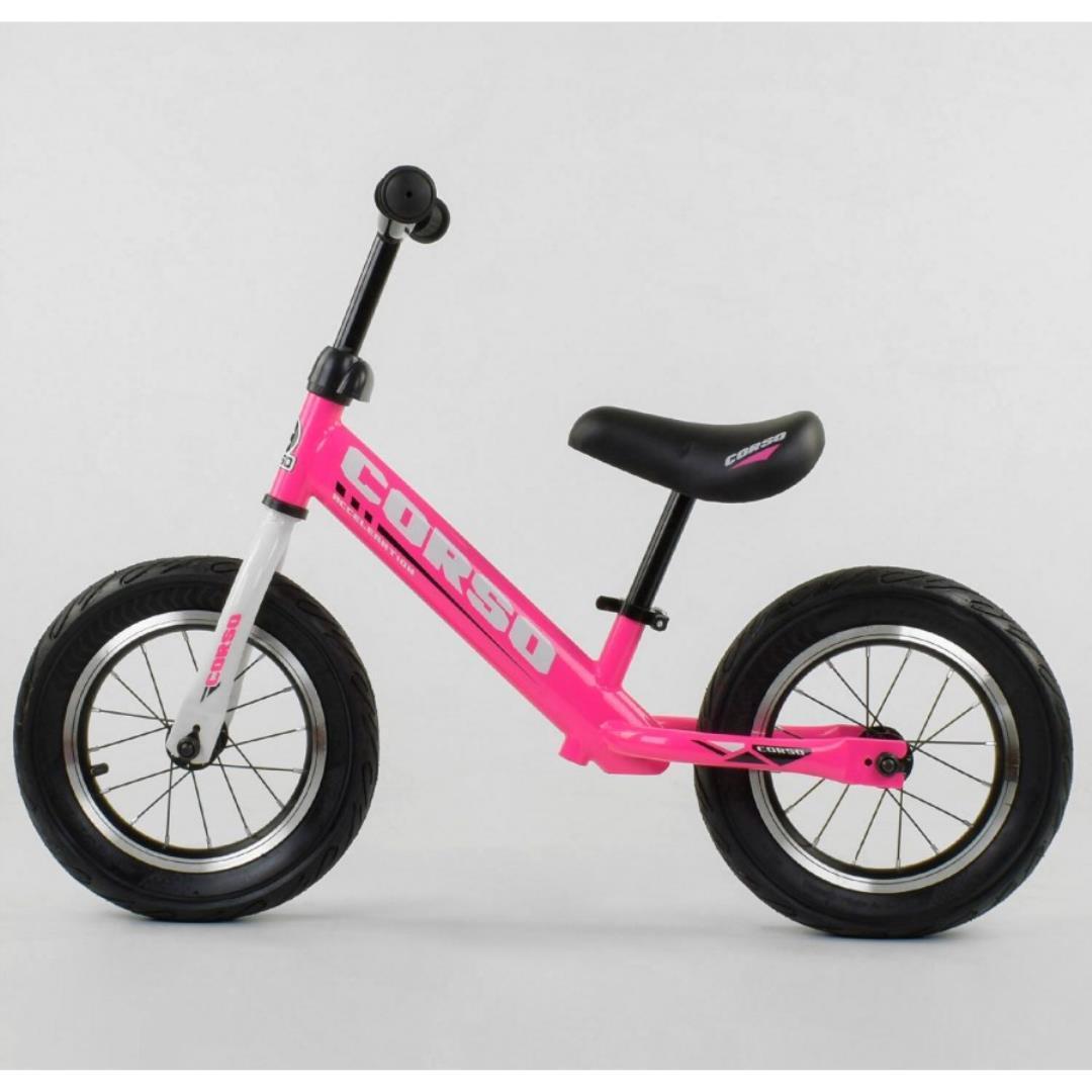 Детский беговел Corso Acceleration 63908 Розовый