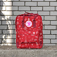 Червоний Рюкзак Kanken Classic репліка, фото 1