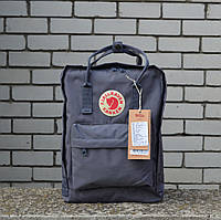 Серый Рюкзак Kanken Classic реплика, фото 1