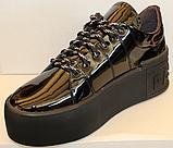 Кроссовки женские кожаные от производителя модель ЛИ5, фото 4