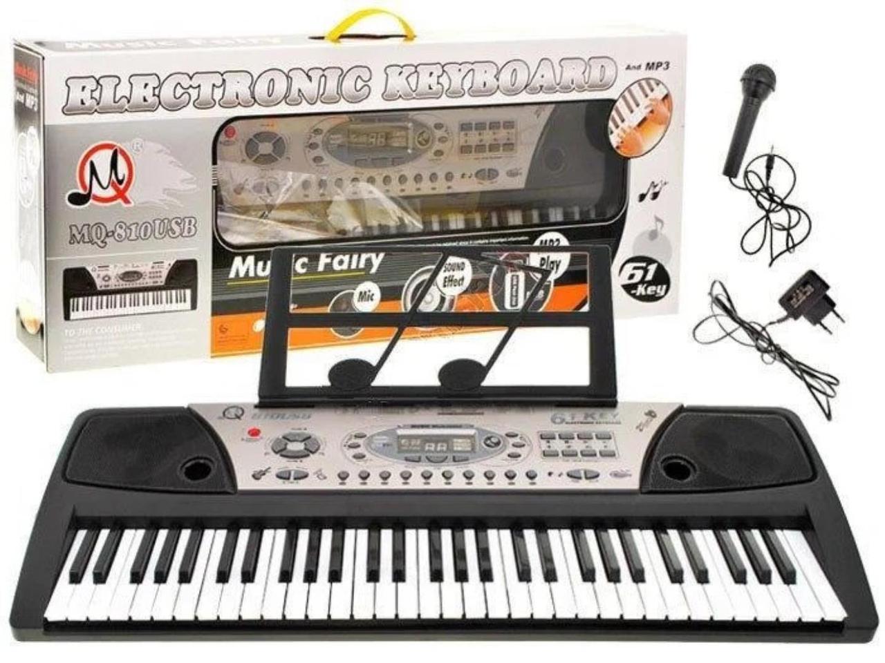 Детский синтезатор MQ810USB 61 клавиша