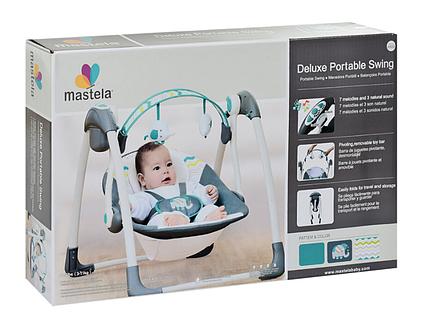 Детские качели Mastela Deluxe Portable Swing 6503