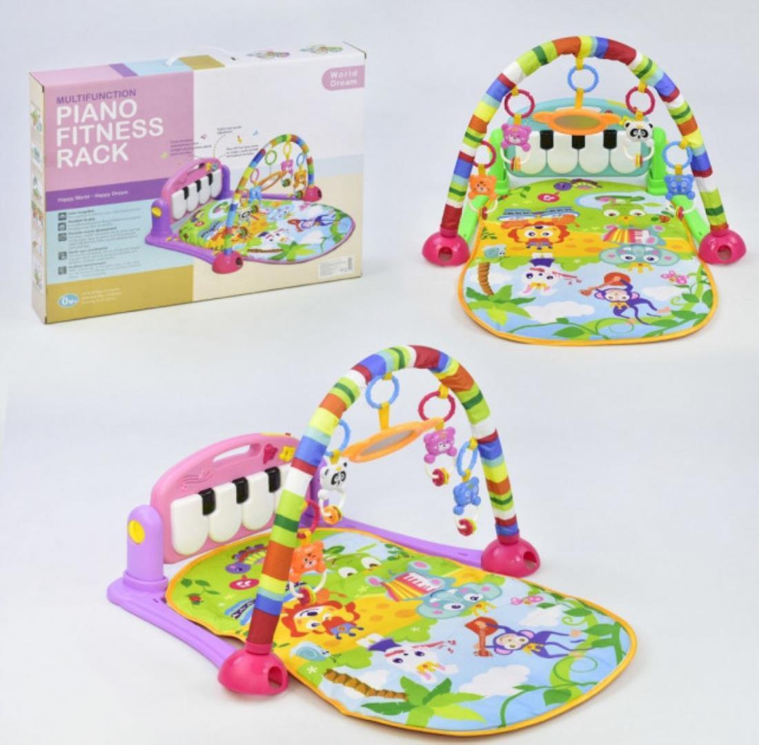 Коврик пианино для младенца HE 0603 Розовый