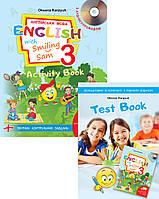 """3 клас. Англійська мова. Робочий зошит. """"Activity Book"""".English with Smiling Sam 3"""" Карп'юк О. Лібра Терра"""