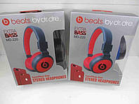 Беспроводные блютуз наушники Monster Beats / Наушники Monster Beats By Dr.Dre MS 220 (Белые), фото 1