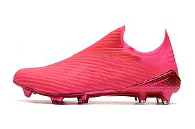 Бутсы Adidas X 19+ FG pink