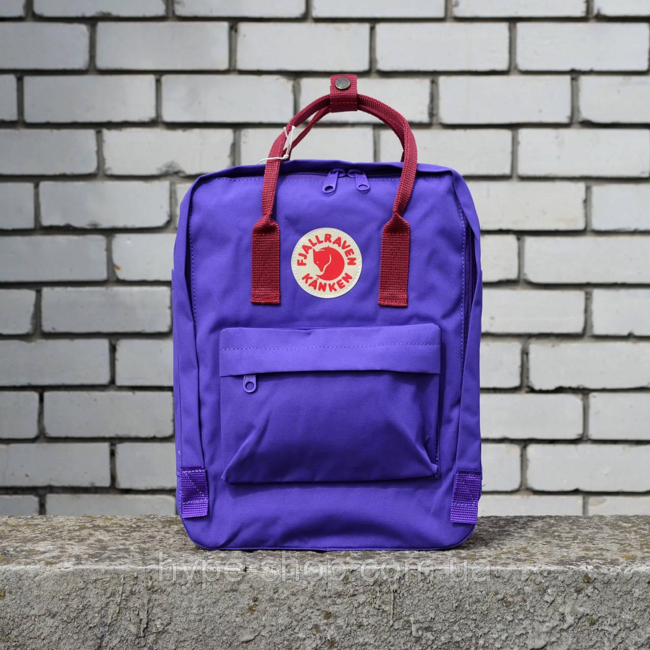 Фиолетовый Рюкзак Kanken Classic реплика