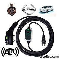Зарядное устройство для электромобиля Nissan Leaf AutoEco J1772-16A-Wi-Fi