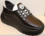 Кроссовки женские кожаные от производителя модель ЛИ8, фото 2