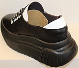 Кроссовки женские кожаные от производителя модель ЛИ8, фото 3