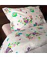 Набор постельного белья детский полуторный Совушки, фото 2