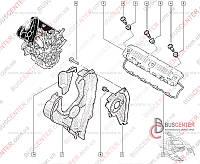 Прокладка болта крепления клапанной крышки Renault Trafic (2000-2014) 8201009975