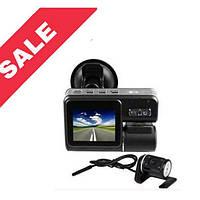 Відеореєстратор X2 Dual Camera 720HD