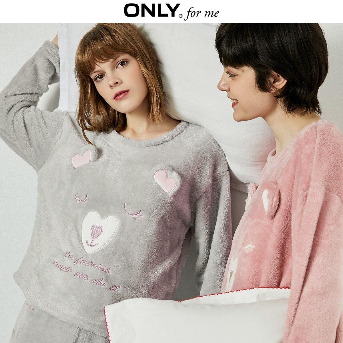 Кофта толстовка женская теплая для дома. Лонгслив, пуловер домашний флисовый Мишка, размер  M (серый)