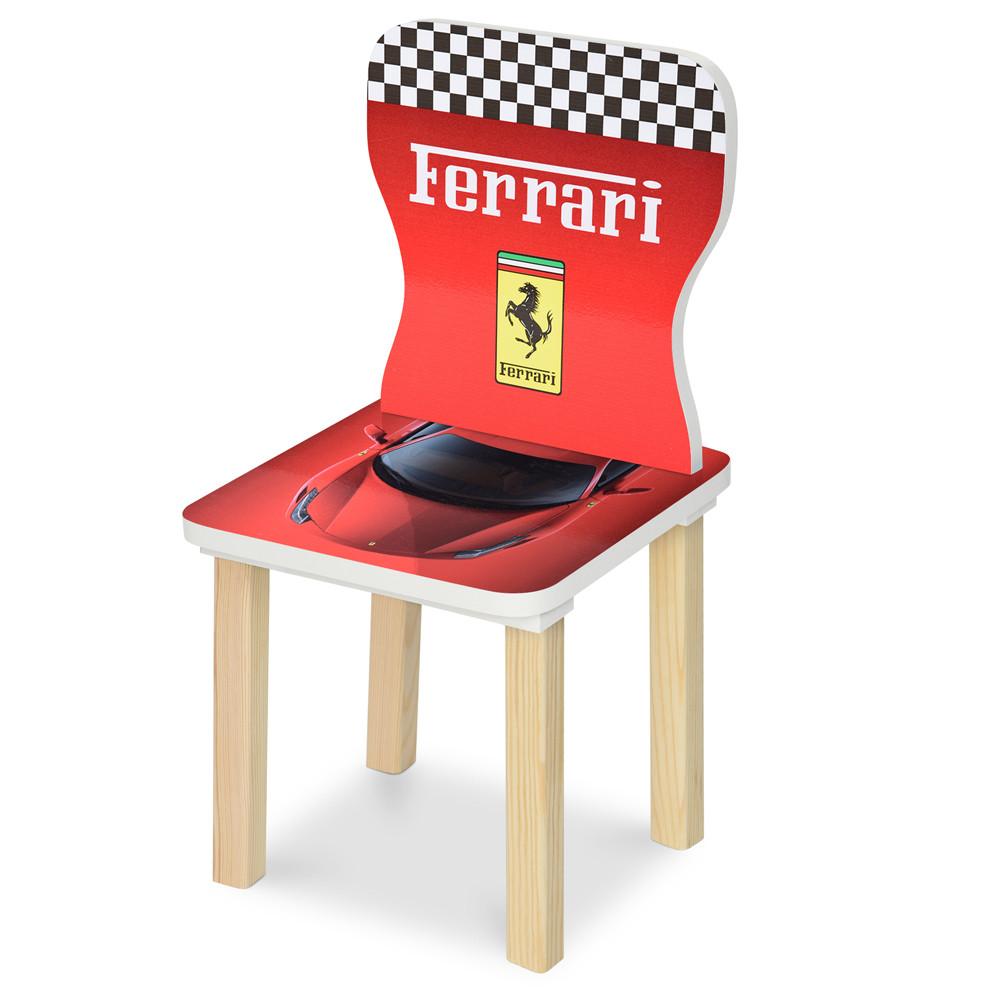 Детский стульчик 406-47  Феррари