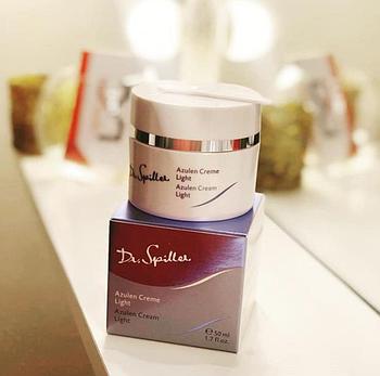 Успокаивающий крем с азуленом легкий Dr.Spiller Azulen Cream Light 50 мл