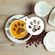 Трафарет для кофе, горячего шоколада, кондитерских изделий