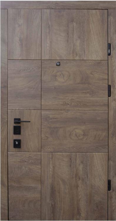 Двери квартирные, STRAJ, модель Terra Z NEW, STRAJ LUX - Prestige. Mottura 54.797 Matic (2+5k)