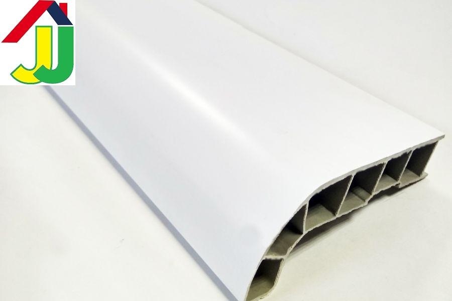 Подоконник Sauberg Белый Сатин 400 мм влагостойкий, термостойкий, для окон