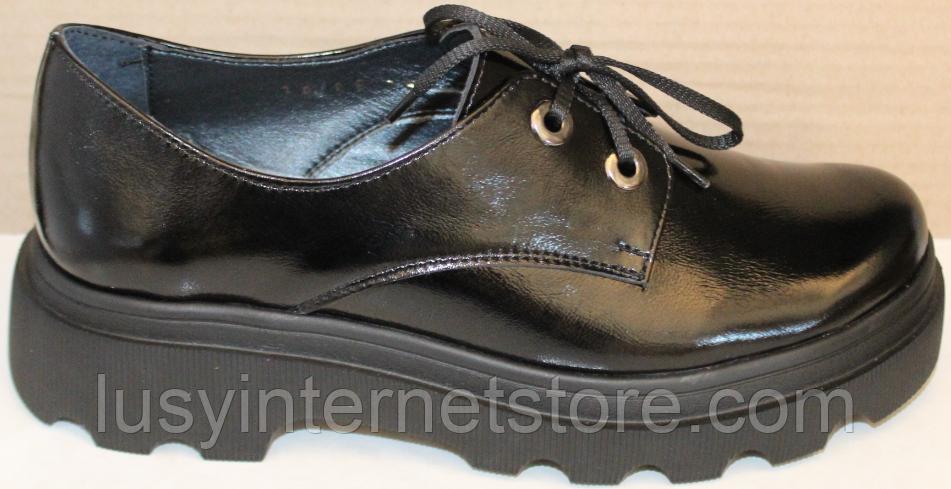 Туфли кожаные женские от производителя модель БМ58