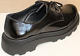 Туфли кожаные женские от производителя модель БМ58, фото 3