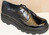 Туфли кожаные женские от производителя модель БМ58, фото 4
