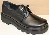 Туфли кожаные женские от производителя модель БМ58, фото 6