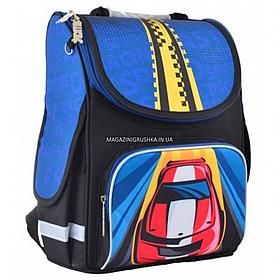 Рюкзак шкільний каркасний Smart Car Чорний (554545)