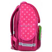 Рюкзак шкільний каркасний Smart PG-11 Flowers Рожевий (554511), фото 3