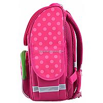 Рюкзак шкільний каркасний Smart PG-11 Flowers Рожевий (554511), фото 4